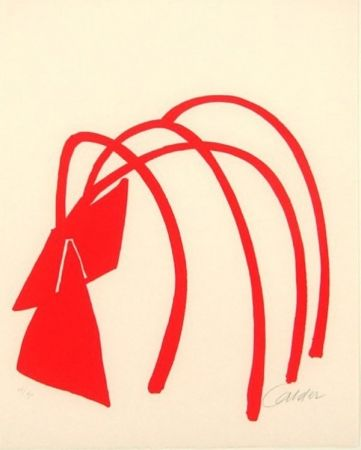 Lithographie Calder - Four Arches