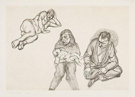 Gravure Freud - Four Figures (Vier Figuren)
