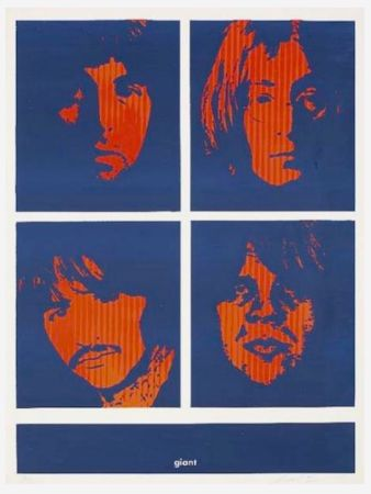 Sérigraphie Fairey - Four Giant Beatles