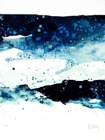 Lithographie Stholl - Fraktion de contre vagues