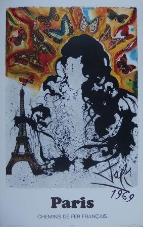 Gravure Dali - France : Paris (Sncf)