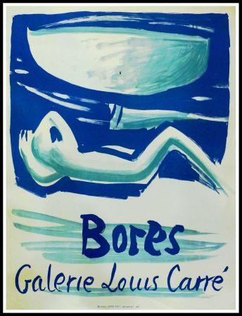 Affiche Bores - FRANCISCO BORES - GALERIE LOUIS CARRÉ