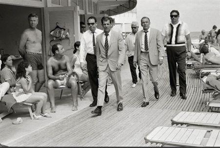 Photographie O'neil - Frank Sinatra On the Board walk