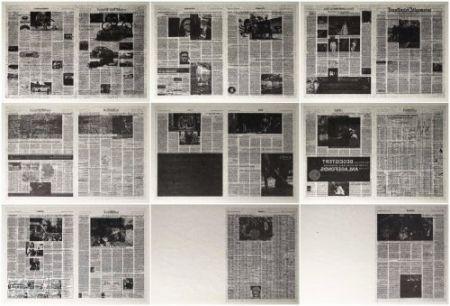Lithographie Kassay - Frankfurter Allgemeine