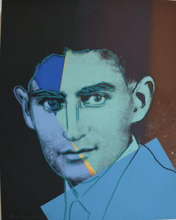 Sérigraphie Warhol - Franz Kafka TP