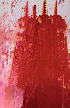 Lithographie Perez - Freedom Tower 3