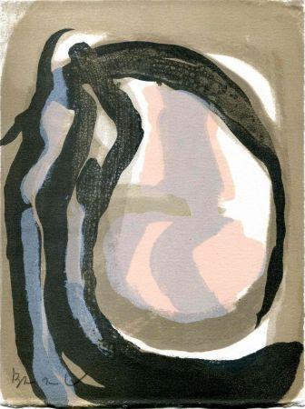 Lithographie Van Velde - FREMON (Jean). L'Envers.