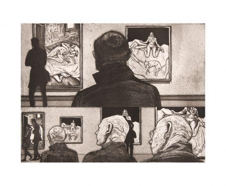 Eau-Forte Et Aquatinte Collin - Freud I