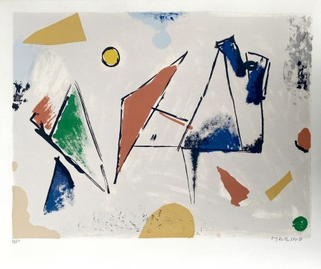 Lithographie Marini -  From Color to Form VIII
