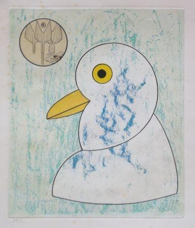 Eau-Forte Et Aquatinte Ernst - From oiseaux en peril
