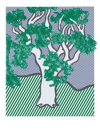 Sérigraphie Lichtenstein - From the Portfolio Columbus