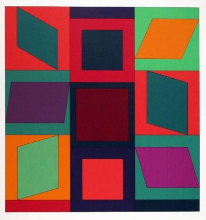 Sérigraphie Vasarely - From the portfolio