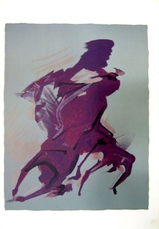 Lithographie Siqueiros - From the Prison Fantasy Series