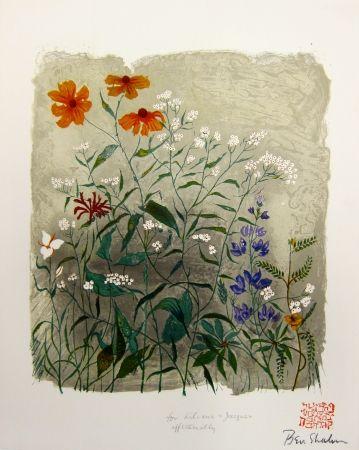 Lithographie Shahn - From the Rainer Maria Rilke Portfolio,