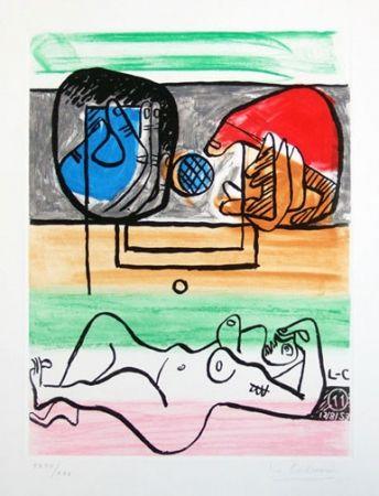 Eau-Forte Et Aquatinte Le Corbusier - From Unite Suite #11a