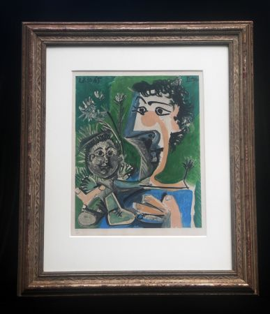 Lithographie Picasso (After) - Fronciuse and Cloude