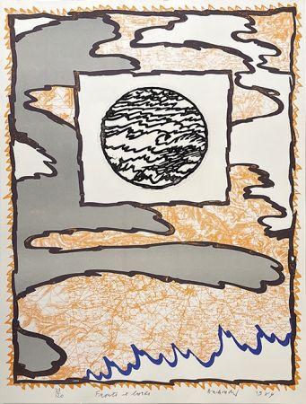 Gravure Alechinsky - Fronts et bords