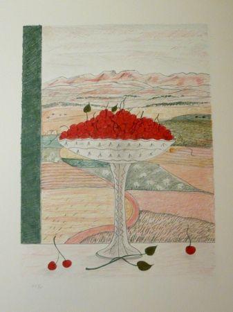 Lithographie Girona - FRUITERA I CIRERES