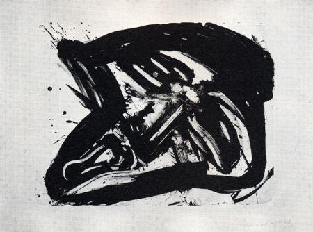Lithographie Kounellis - Fumo di pietra IX