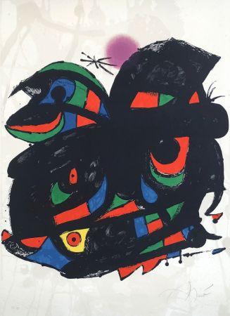 Lithographie Miró - Fundació Barcelona