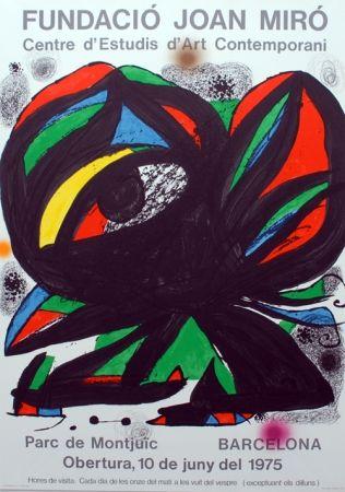 Lithographie Miró - Fundacio Joan Miro - Barcelona 1975