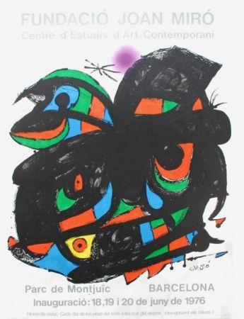 Lithographie Miró - Fundacio Joan Miro - Barcelona 1976