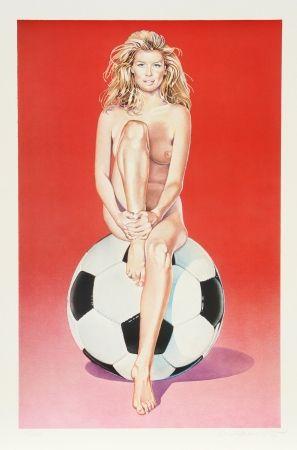 Lithographie Ramos - Fussball Fannie