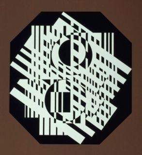 Sérigraphie Vasarely - G-Linn