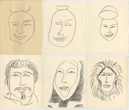 Livre Illustré Matisse - G. Duthuit : UNE FÊTE EN CIMMÉRIE (ex. avec suite) Tériade, 1963