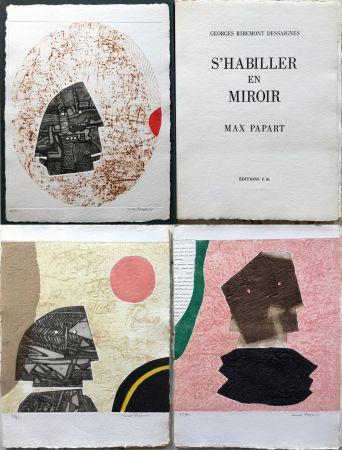 Eau-Forte Et Aquatinte Papart - G. Ribemont Dessaignes : S'HABILLER EN MIROIR (1977).