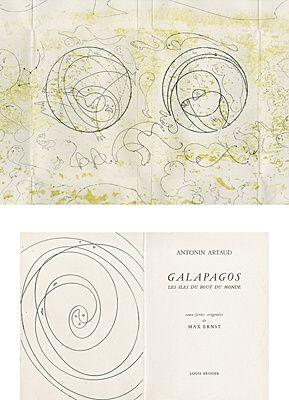 Livre Illustré Ernst - Galapagos - Les îles du bout du monde
