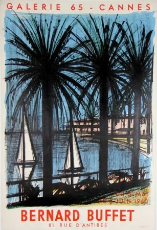 Lithographie Buffet - Galerie 65 Cannes
