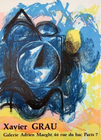 Lithographie Grau - Galerie Adrien Maeght