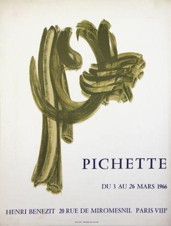 Lithographie Pichette  - Galerie André Benezit