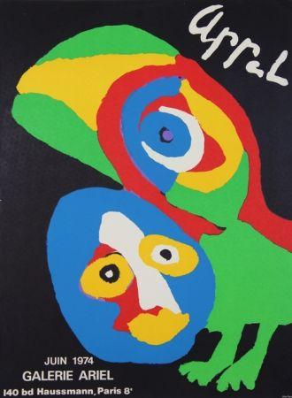 Lithographie Appel - Galerie Ariel