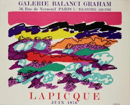 Lithographie Lapicque - Galerie Balanci Grahan