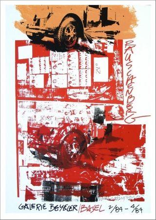 Sérigraphie Rauschenberg - Galerie Beyeler