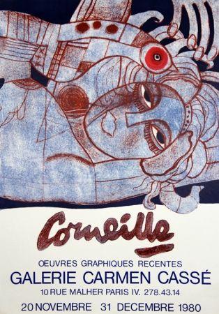 Lithographie Corneille - Galerie Carmen Casse