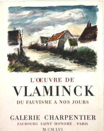 Lithographie Vlaminck - Galerie Charpentier