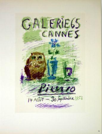 Lithographie Picasso (After) - Galerie de Cannes