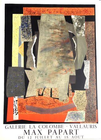 Lithographie Papart - Galerie de la Colombe Vallauris