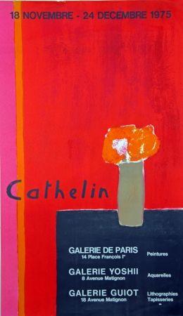 Lithographie Cathelin - Galerie de Paris