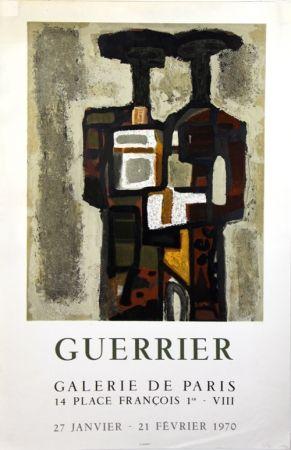 Lithographie Guerrier - Galerie de Paris
