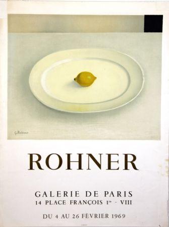Lithographie Rohner - Galerie de Paris