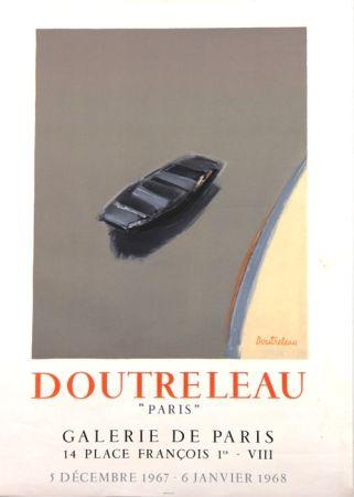 Lithographie Doutreleau - Galerie de Paris