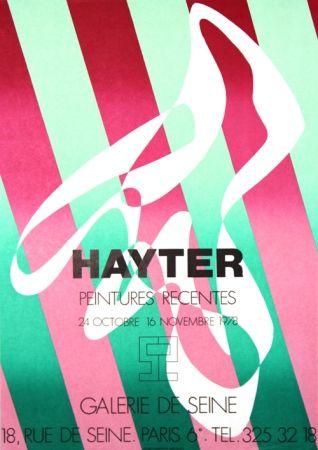 Lithographie Hayter - Galerie de Seine