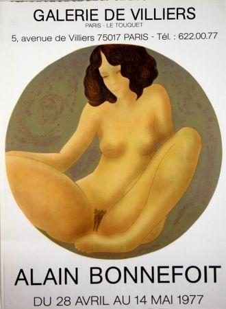 Lithographie Bonnefoit - Galerie de Villiers
