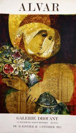 Lithographie Alvar - Galerie Drouant