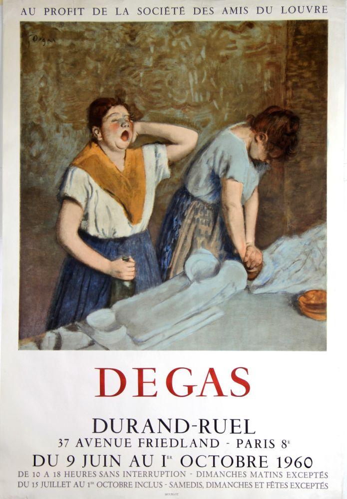 Lithographie Degas - Galerie Durand -Ruel