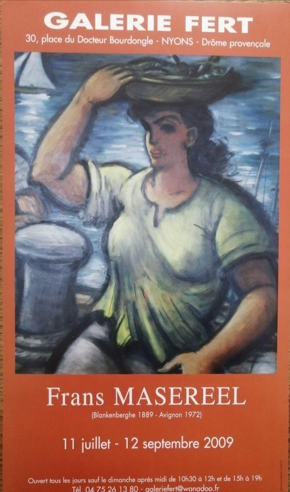 Affiche Masereel - Galerie Fert - 2009